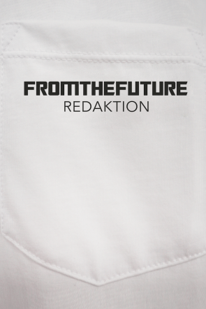 From the Future Shirt weiß